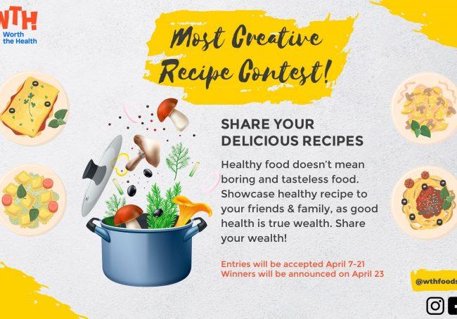 Blog - Most Creative Recipe Contest 2880x1896
